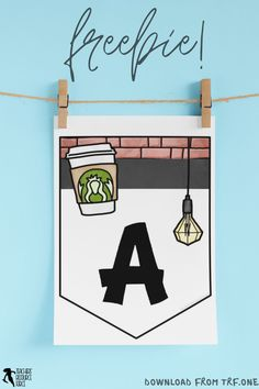 Are you looking for some fun backdrop ideas for your online calls with your students? A fun way to easily and cheaply mix it up is by hanging novel bunting up on the wall! You can get these editable coffee shop themed bunting for free right now! #teacherfreebies #freeteachingresources #freebunting #coffeeshopclassroom Free Teaching Resources, School Resources, High School Classroom, Classroom Decor, Backdrop Ideas, Backdrops, Teacher Freebies, Some Fun, Bunting