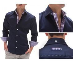 Bertigo Mens Dress Shirts Lopez 92