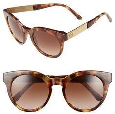 Tory Burch 52mm Retro Sunglasses #sunglasses #womens #summer