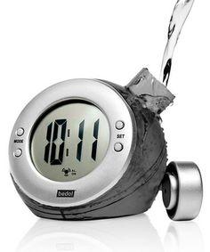 Charcoal Eco-Friendly Water-Powered Clock #zulily #zulilyfinds