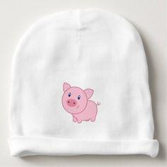 #cute #baby #beanies #babybeanies - #9730598 Piggy Delight Baby Beanie