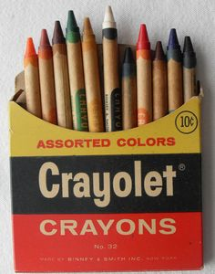 1960s crayons
