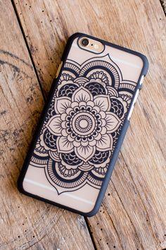 Tree of Life Floral Mandala Phone Case