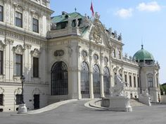 Upper Belvedere Castle in Vienna on Shutterbug Traveler