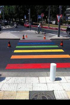 Rainbow Crosswalks to Adorn West Hollywood Streets