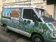 véhicule à tipis atypique Van, Nature, Teepees, Naturaleza, Vans, Nature Illustration, Outdoors, Natural, Vans Outfit