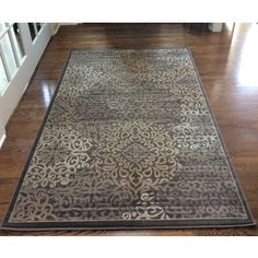 Shop for Plaza Mia Brown Area Rug (7'10 x 10'6) - 7'10 x 10'6. Get free shipping at Overstock.com - Your Online Home Decor Outlet Store! Get 5% in rewards with Club O! - 20097366