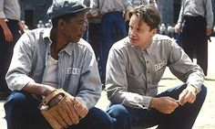 Shawshank Redemption (1994) - Morgan Freeman and Tim Robbins. I hated that I miss this movie when it was playing in theaters, now that I have it on DVD, I almost know the whole movie by heart, really!