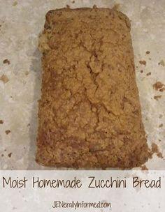 The Best Zucchini Bread Recipe EVER by @queenmommyjen