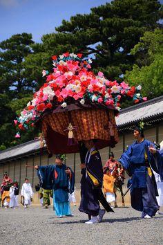 京都御苑 葵祭 穴場