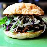 This really is the best pulled pork recipe ever. Pork Sandwiches with Cilantro-Jalapeno Slaw | The Pioneer Woman Cooks | Ree Drummond