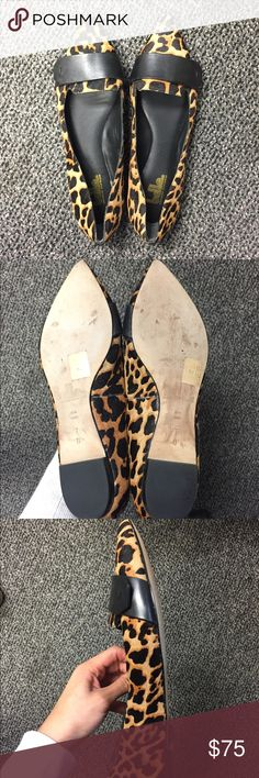 Sigerson Morrison Belle Leopard Flats *like new* Like new leopard flats from Belle by Sigerson Morrison! Perfect for work, errands or dinner. Comfy padded sole and great quality. Worn once. Belle by Sigerson Morrison Shoes Flats & Loafers