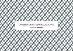 Crosshatch Style Pattern Background