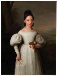 La infanta María Luisa Teresa de Borbón, luego duquesa de Sessa - Colección - Museo Nacional del Prado