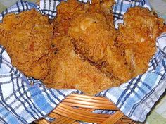 My best-to-date copycat recipe for replicating KFCs Extra Crispy chicken. Note: This recipe requires 1/2 cup of my Recipe #453973. Yields one batch fried chicken (8-10 pieces, or up to 16 drumsticks). For a bulk mix of this same recipe for quick and easy breading, use Recipe #493078. PLEASE NOTE: The Nutritional Information listing here is inaccurate - since only a fraction of flour and salt actually end up in the finished product. So be aware - the suggested sodium, sugar, carbohydrate and…