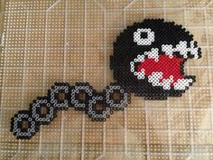 Chain Chomper Mario perler beads by S Sharda