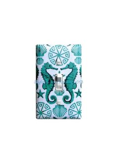 Seahorse Light Switch Plate Cover / Nautical by SSKDesigns on Etsy, $16.00