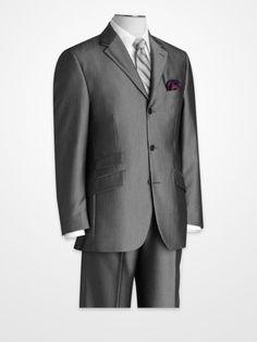 Steve Harvey Black Pinstripe Suit Separates #menswear #stripe #suitandtie
