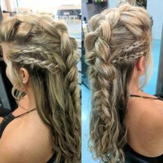 20 hair looks inspired by Vikings Lagertha; She looks rude and feminine with warrior braids - #Braids #feminine #Hair #INSPIRED #Lagertha #rude #Vikings #warrior