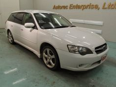 Japanese vehicles to the world: 2003 Subaru Legacy 2.0R 4WD for Zambia to Dar es s...