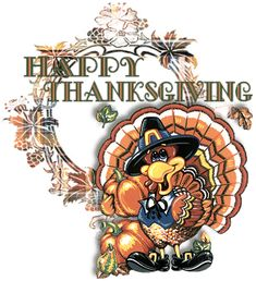 Animated Gif by Barbara_Wyckoff Thanksgiving Graphics, Happy Thanksgiving Images, Thanksgiving Messages, Thanksgiving Prayer, Thanksgiving Greetings, Thanksgiving Crafts, Thanksgiving Decorations, Good Morning Inspiration, Birthday Wishes Funny