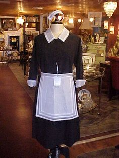 Maid costume complete costume dress apron and for St bernadette craft show