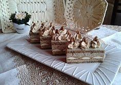 Diós kávés rumos szelet | Cream Cheese Flan, Hungarian Recipes, Hungarian Food, Czech Recipes, Decorative Boxes, Food And Drink, Tattos, Dessert, Dios