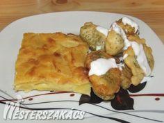 Bundázott brokkoli besameles burgonyával recept Pancakes, Breakfast, Recipes, Food, Morning Coffee, Eten, Recipies, Ripped Recipes, Recipe