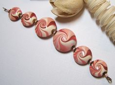 Polymer Clay Beads by Fanceethat...