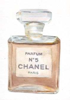 chanel perfume bottle print chanel parf m parf m und chanel. Black Bedroom Furniture Sets. Home Design Ideas