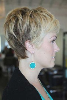 I should think about this for going grey too! 2013 Pixie Hairstyles for Women