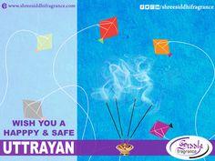 #Happy #Safe #Uttarayan #kite #festival #MakarSankranti 2016 #SaveBirds  #Siddhi #Fragrance #Agarbatti