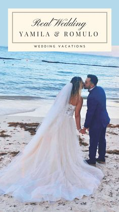 Click to read more about Yamila & Romulo's Real Wedding in Punta Cana.