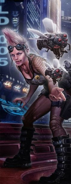 Rpg Cyberpunk, Cyberpunk Character, Character Concept, Character Art, Concept Art, Science Fiction, Shadowrun Rpg, Sci Fi Characters, Star Wars
