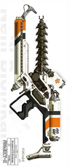 Alien Weapon from District 9