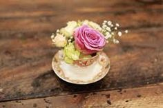 flowers in a teacup - Google Search