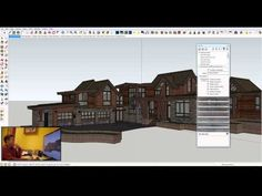 Nick shows how he uses 1 SketchUp model as a reference for creating various drawing types, including sections, elevations, reflected ceiling plans, etc. All ...