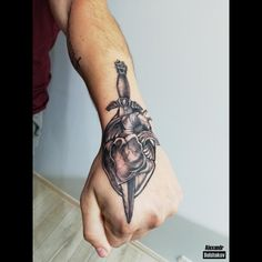 Best Back Tattoo | TA Cool Back Tattoos, Blackwork, Skull, Sugar Skull