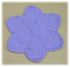 ... Free Knitted Washcloth Patterns