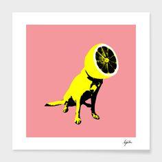 """Lemon"" - Numbered Art Print by Ali Gulec on Curioos"