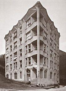 Josef Chocol, Apartment Building inspired by Cubism, Prague, 1913