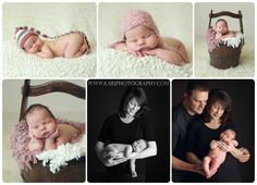 Highlights from one of my favorite newborn sessions last year.