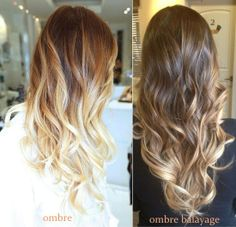 Summer hair, balayage, ombre balayage