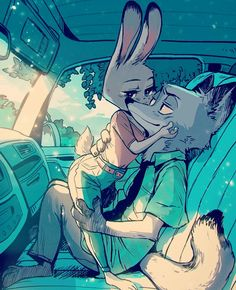 Zootopia - Nick Wilde x Judy Hopps - Wildehopps Zootopia Comic, Zootopia Fanart, Disney Fan Art, Disney Love, Disney And Dreamworks, Disney Pixar, Arte Alien, Zootopia Nick And Judy, Nick Wilde