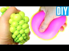 BAKING SODA STRESS BALLS | DIY Squishy Stress Ball - YouTube