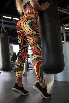 98375029ac8 Multicolor Leggings For Women Gym Leggings Yoga Gym Leggings