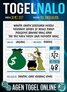 Pools JP 3D Togel Wap Online TogelNalo Palangkaraya 30 Mei 2017