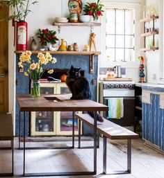 Cozy colorful kitchen {Vive La Mandy}