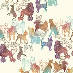 Dogs by Gabee Meyer, via Behance