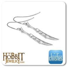 Tauriel first appears in the second part of the Hobbit Trilogy, The Desolation of Smaug,  http://www.thehobbitjewelry.com/the-hobbit-desolation-of-smaug-tauriel-dagger-earrings-44.html